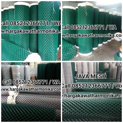 Kawat Harmonika Galvanis & PVC